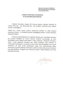 Sejmik - stanowisko powstanie styczniowe